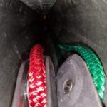 Isomat boom maintenance - putting it back together