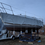 CS34 Winter Boat Cover