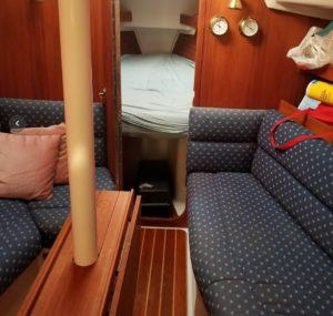 sailboat cabin