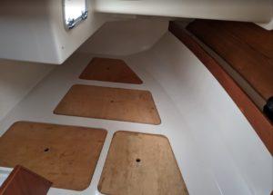 sailboat interior aft cabin