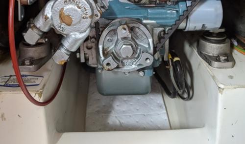 sailboat diesel engine