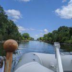 Heading home through Murray Canal