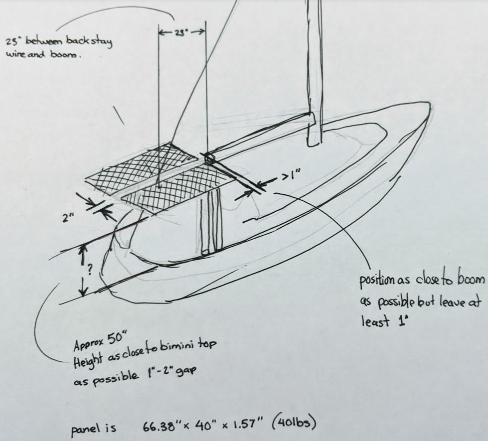 solar panel 3d sketch