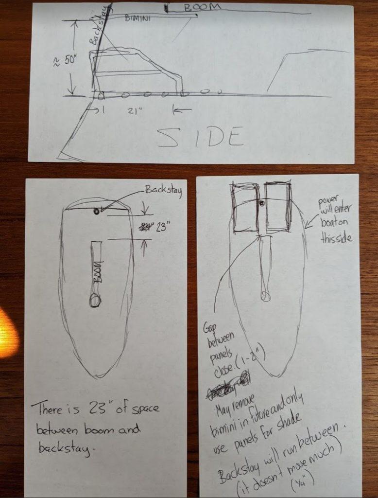 solar panel sketch